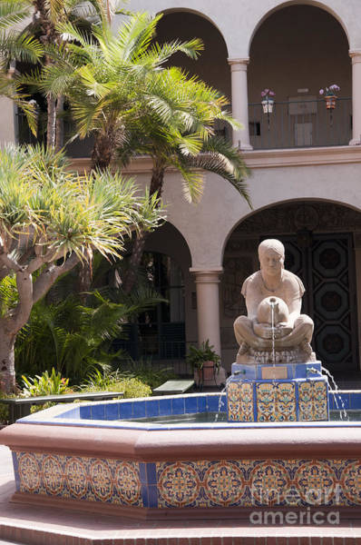 Photograph - Fountain Of The Aztec Woman by Brenda Kean