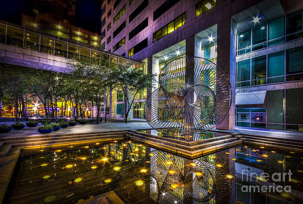 Work Of Art Photograph - Fountain Reflection by Marvin Spates