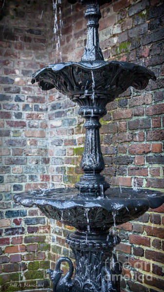 Photograph - Fountain by Todd Blanchard