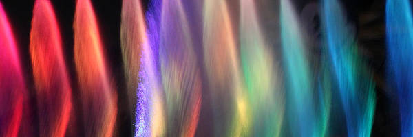 Photograph - Fountains Of Color by James Eddy
