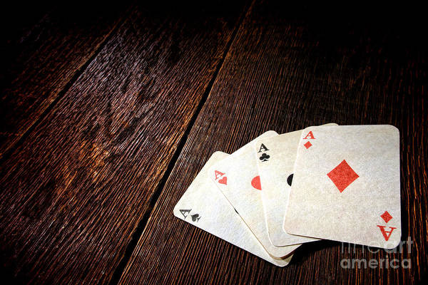 Wall Art - Photograph - Four Aces by Olivier Le Queinec