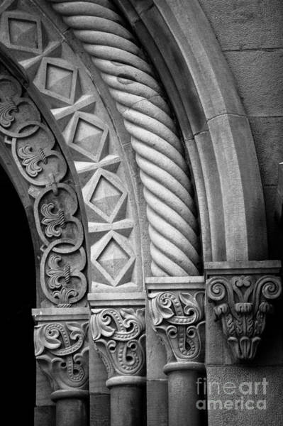 Smithsonian Photograph - Four Arches by Inge Johnsson