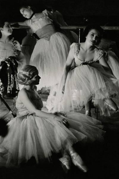 Radio City Music Hall Photograph - Four Ballet Dancers by Remie Lohse