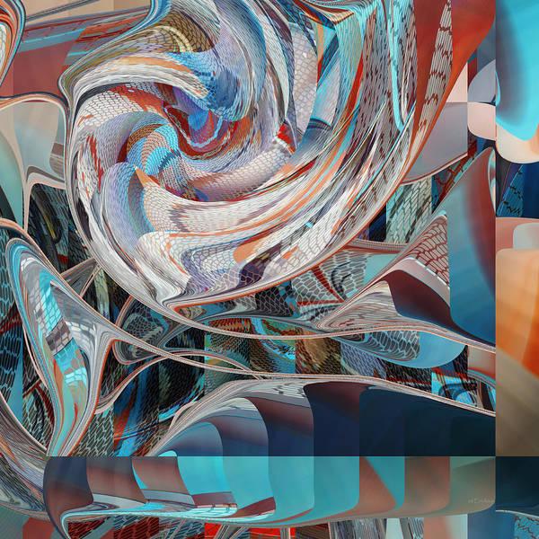 Digital Art - Four Corners Work by rd Erickson