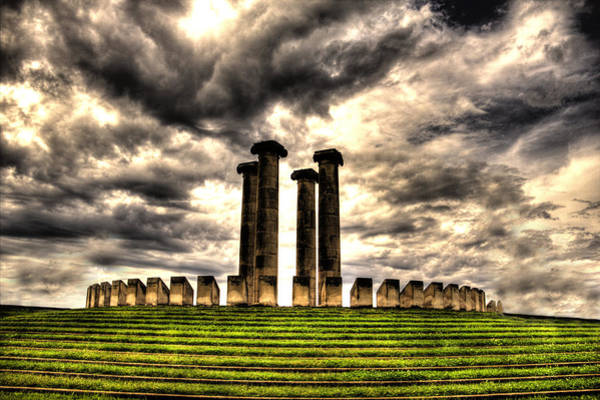 Wall Art - Photograph - Four Freedom Monuments by Todd Carter