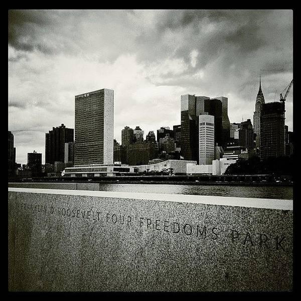 Wall Art - Photograph - Four Freedoms Park by Randy Lemoine