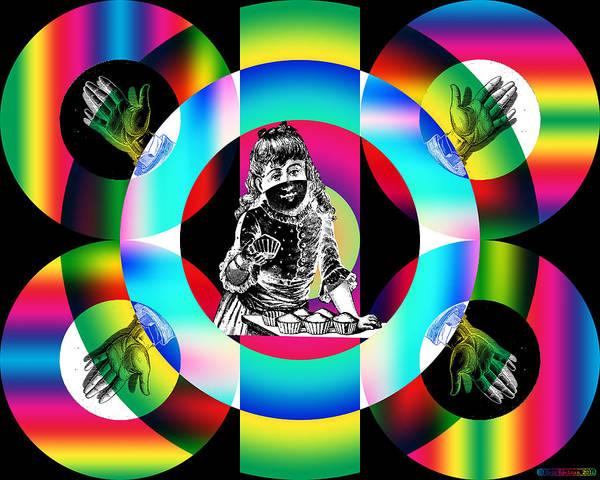 Digital Art - Four In Hand by Eric Edelman
