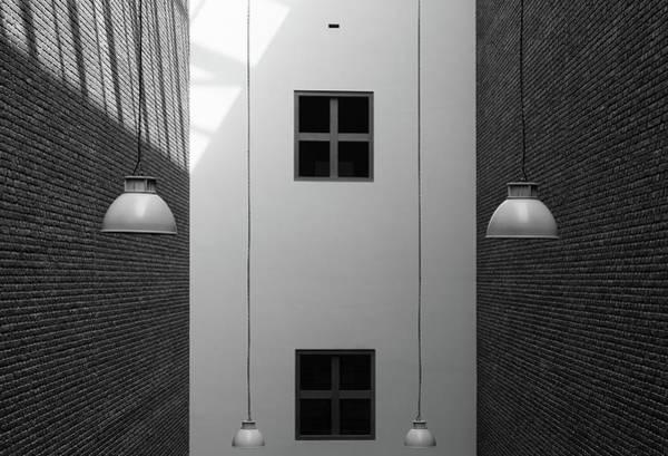 Brick Wall Art - Photograph - Four by Jeroen Van De
