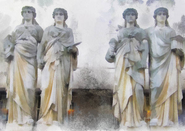 Photograph - Four Muses by Gerry Bates