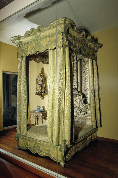 1715 Drawing - Four-poster Bed, Anonymous by Quint Lox