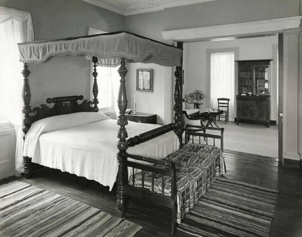 Window Display Photograph - Four Poster Bed by William Grigsby
