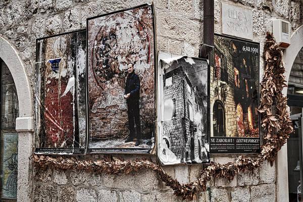 Photograph - Four Posters by Stuart Litoff