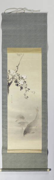 Bald Eagles Drawing - Four Seasons Spring, Watanabe Seitei by Litz Collection