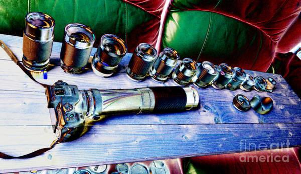 Photograph - Four Third Lenses Part 3 by Lance Sheridan-Peel