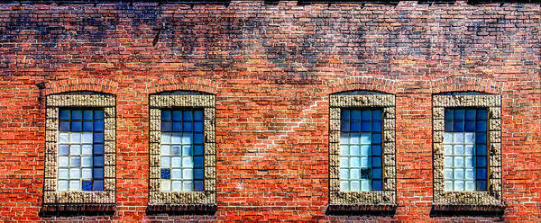Wall Art - Photograph - Four Windows by William Wetmore