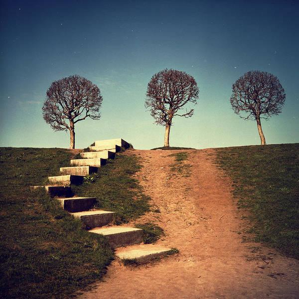 Stairs Photograph - Fourteen by Alexander Kuzmin