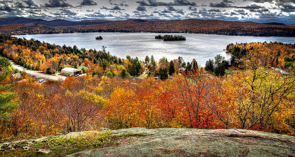 David Patterson Photograph - Fourth Lake From Above by David Patterson