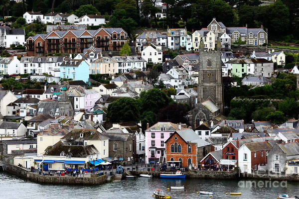 Photograph - Fowey Cornwall by James Brunker