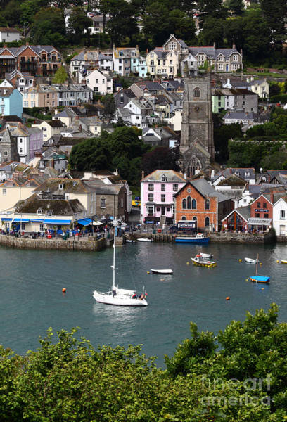 Photograph - Fowey Harbour Cornwall by James Brunker