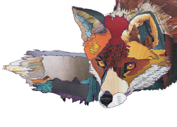 Stitch Painting - Fox by MGL Meiklejohn Graphics Licensing