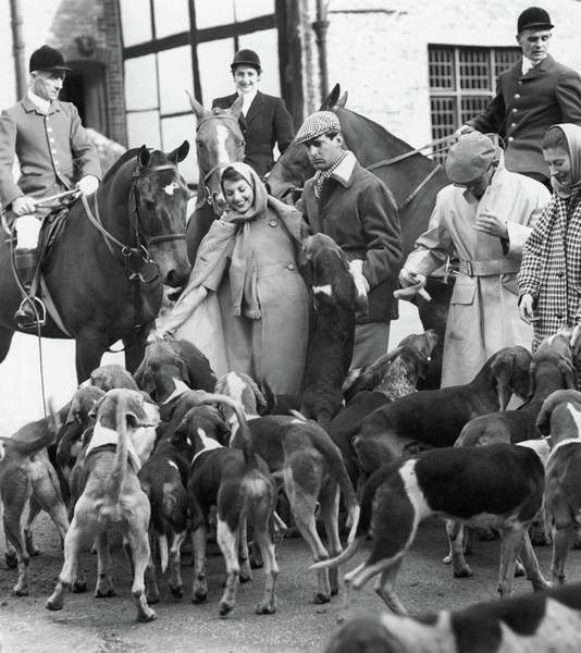Western Society Photograph - Fox Hunt by Henry Clarke