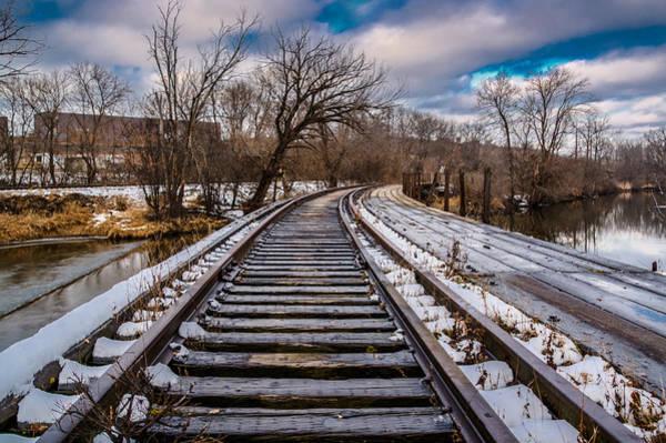 Photograph - Fox River Railroad Bridge by Randy Scherkenbach