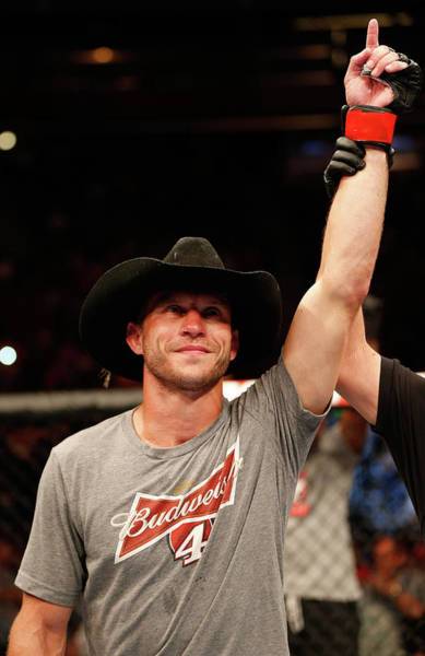 Donald Photograph - Fox Ufc Saturday Cerrone V Barboza by Josh Hedges/zuffa Llc