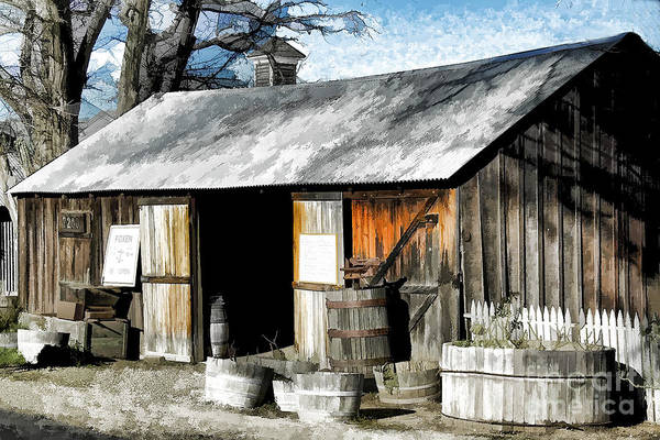 Photograph - Foxen Winery by Kathleen Gauthier