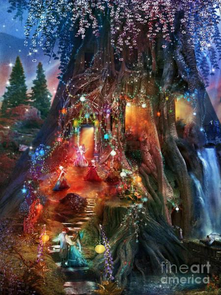 Foxglove Wall Art - Digital Art - Foxglove Ball by MGL Meiklejohn Graphics Licensing
