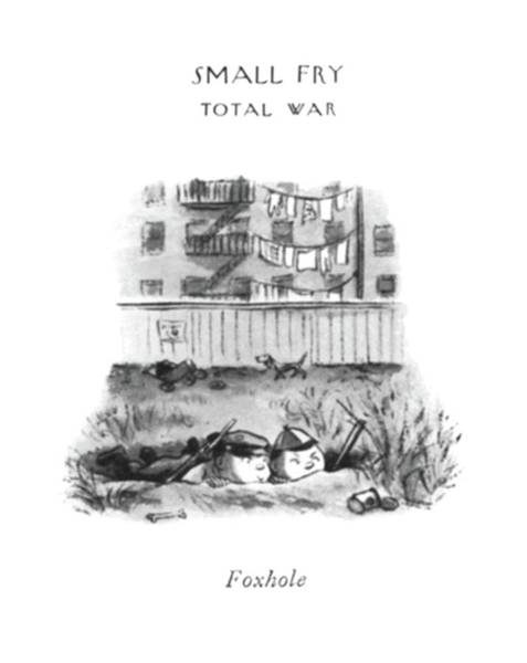 Imagination Drawing - Foxhole by William Steig
