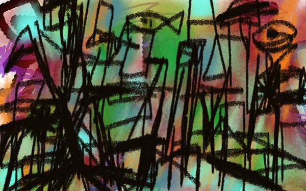 Drawing - Iguacu by Paul Sutcliffe