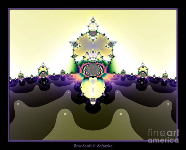 Digital Art - Fractal 22 Cactus In The Desert by Rose Santuci-Sofranko