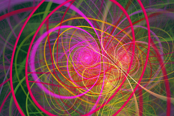 Digital Art - Fractal - Abstract - Loopy Doopy by Mike Savad