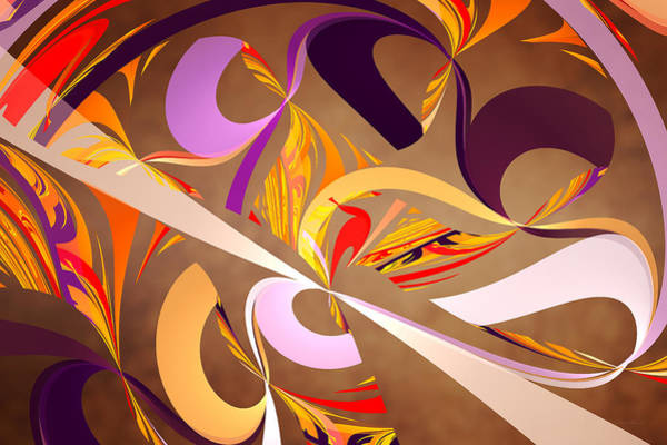 Digital Art - Fractal - Abstract - Space Time by Mike Savad