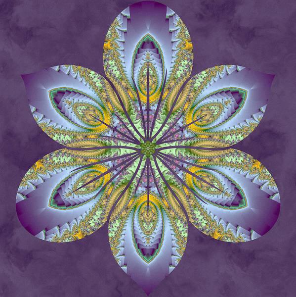 Digital Art - Fractal Blossom by Derek Gedney
