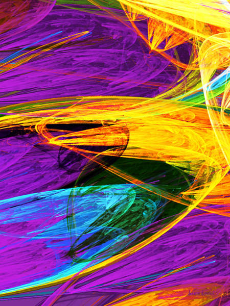 Photograph - Fractal - Butterfly Wing Closeup by Susan Savad