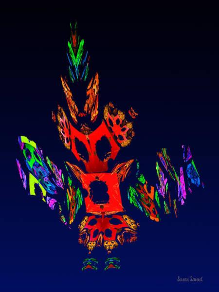 Digital Art - Fractal - Gombay Dancer by Susan Savad