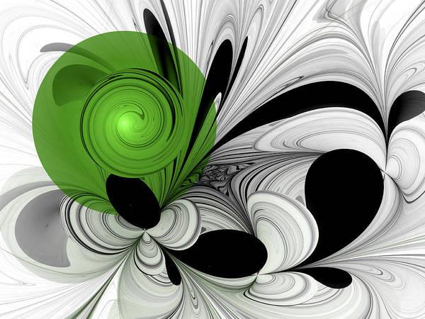 Phantasy Digital Art - Fractal Hope by Gabiw Art