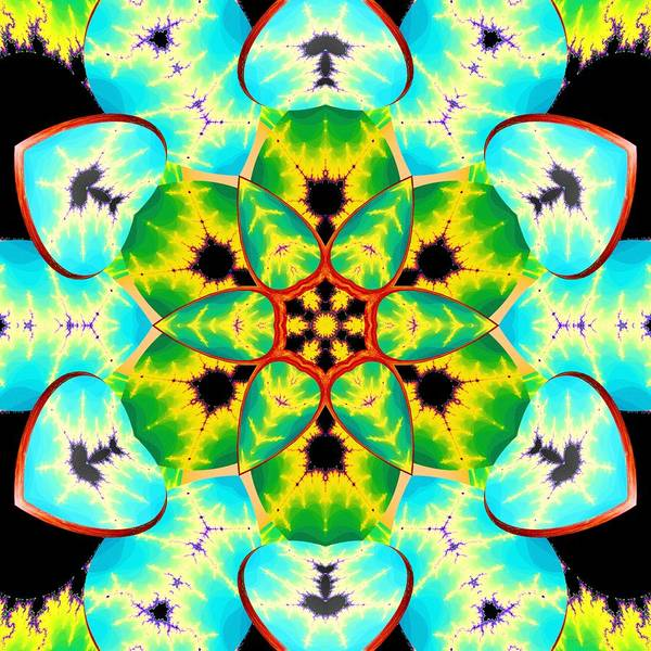 Digital Art - Fractal Lotus by Derek Gedney