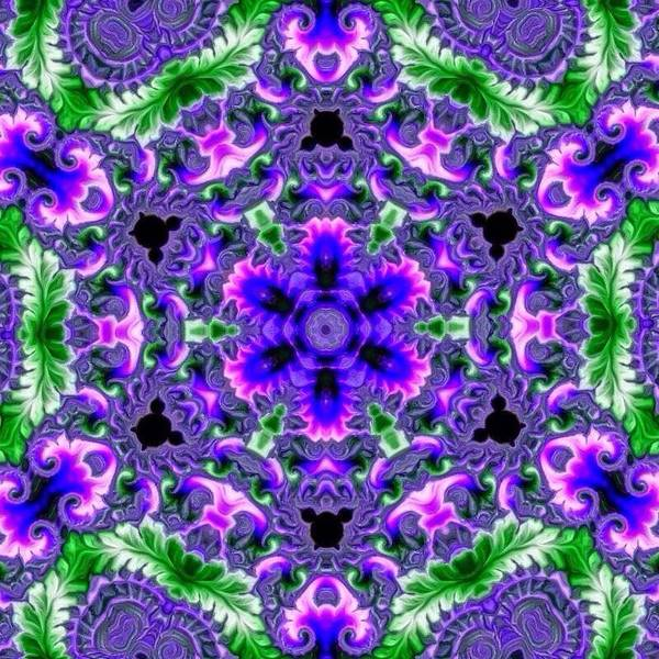 Digital Art - Fractal Mandala Meditation by Karen Buford