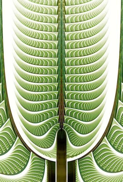 Digital Art - Fractal Pine by Anastasiya Malakhova