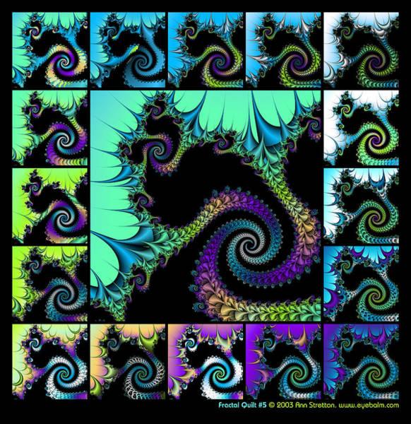 Fractal Quilt 5  Art Print