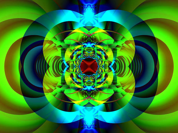 Digital Art - Fractal Waves by Frederic Durville