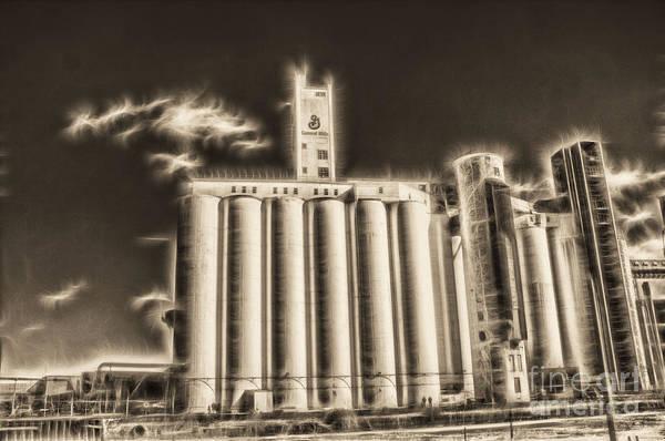 Photograph - Fractalius Grain Mills by Jim Lepard