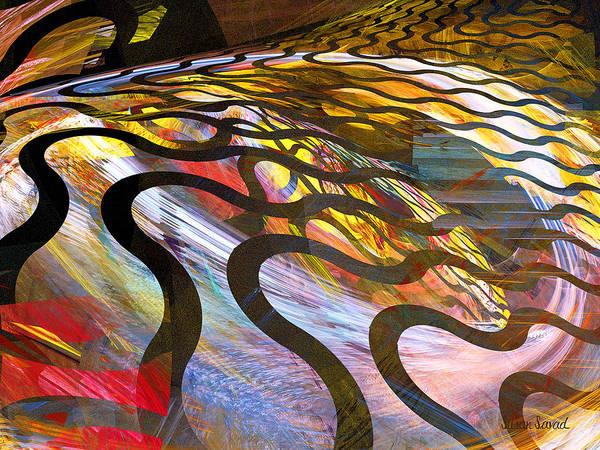 Photograph - Fractals - Snake by Susan Savad