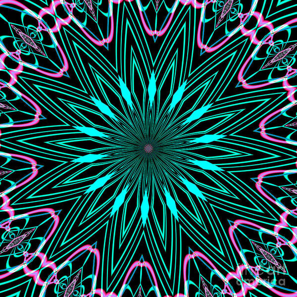 Digital Art - Fractalscope 16 by Rose Santuci-Sofranko