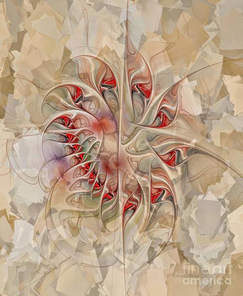 Digital Art - Fractured Love by Deborah Benoit