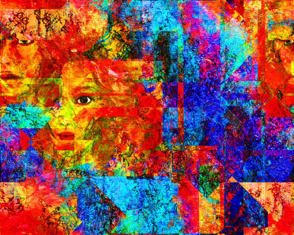 Wall Art - Digital Art - Fractured by Patricia Motley