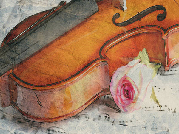 Fragrant Musik Art Print