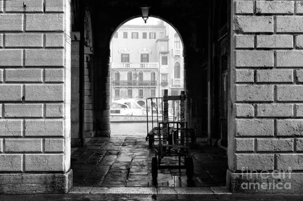 Photograph - Framed In Venice by John Rizzuto